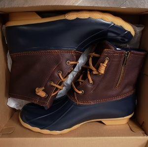 Womens Sperry Saltwater Duck boots